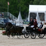 Carriage parade at Rolex